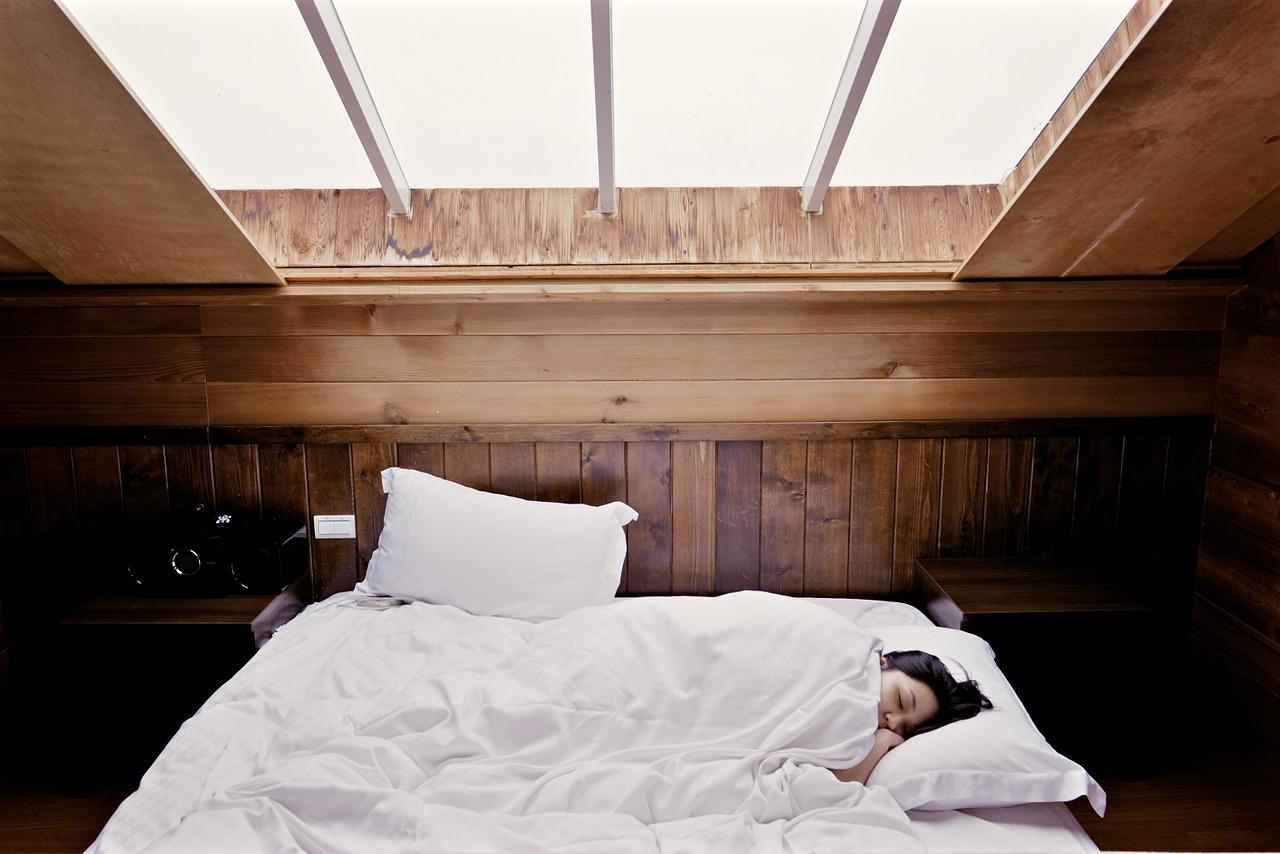 la luz incide en el sueño